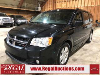 Used 2016 Dodge GRAND CARAVAN CREW 4D WAGON 3.6L for sale in Calgary, AB