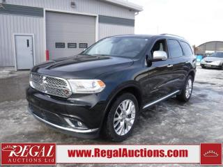 Used 2015 Dodge Durango Citadel 4D Utility AWD 5.7L for sale in Calgary, AB