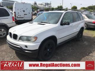 Used 2001 BMW X5 (16-X) for sale in Calgary, AB