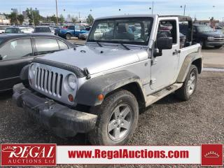 Used 2010 Jeep Wrangler (25-F) for sale in Calgary, AB