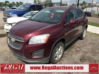 Used 2016 Chevrolet Trax (42-NF) for sale in Calgary, AB