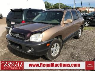 Used 2003 Hyundai Santa Fe (6-J) for sale in Calgary, AB