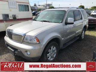Used 2005 Lincoln Aviator (6-X) for sale in Calgary, AB