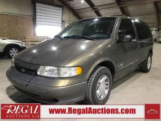 Used 1998 Nissan QUEST GXE 4D WAGON FWD for sale in Calgary, AB