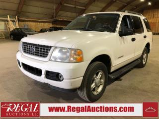 Used 2005 Ford Explorer 4D Utility AWD for sale in Calgary, AB