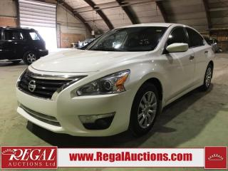 Used 2015 Nissan Altima 4D Sedan for sale in Calgary, AB