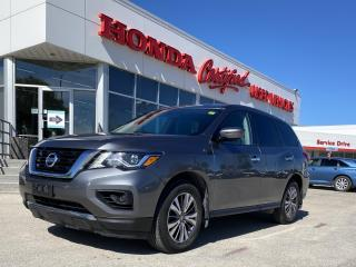 Used 2017 Nissan Pathfinder S AWD | BLUETOOTH | 7-PASS for sale in Winnipeg, MB