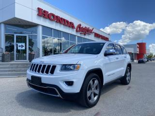 Used 2014 Jeep Grand Cherokee Limited AWD | V6 | NAVI for sale in Winnipeg, MB