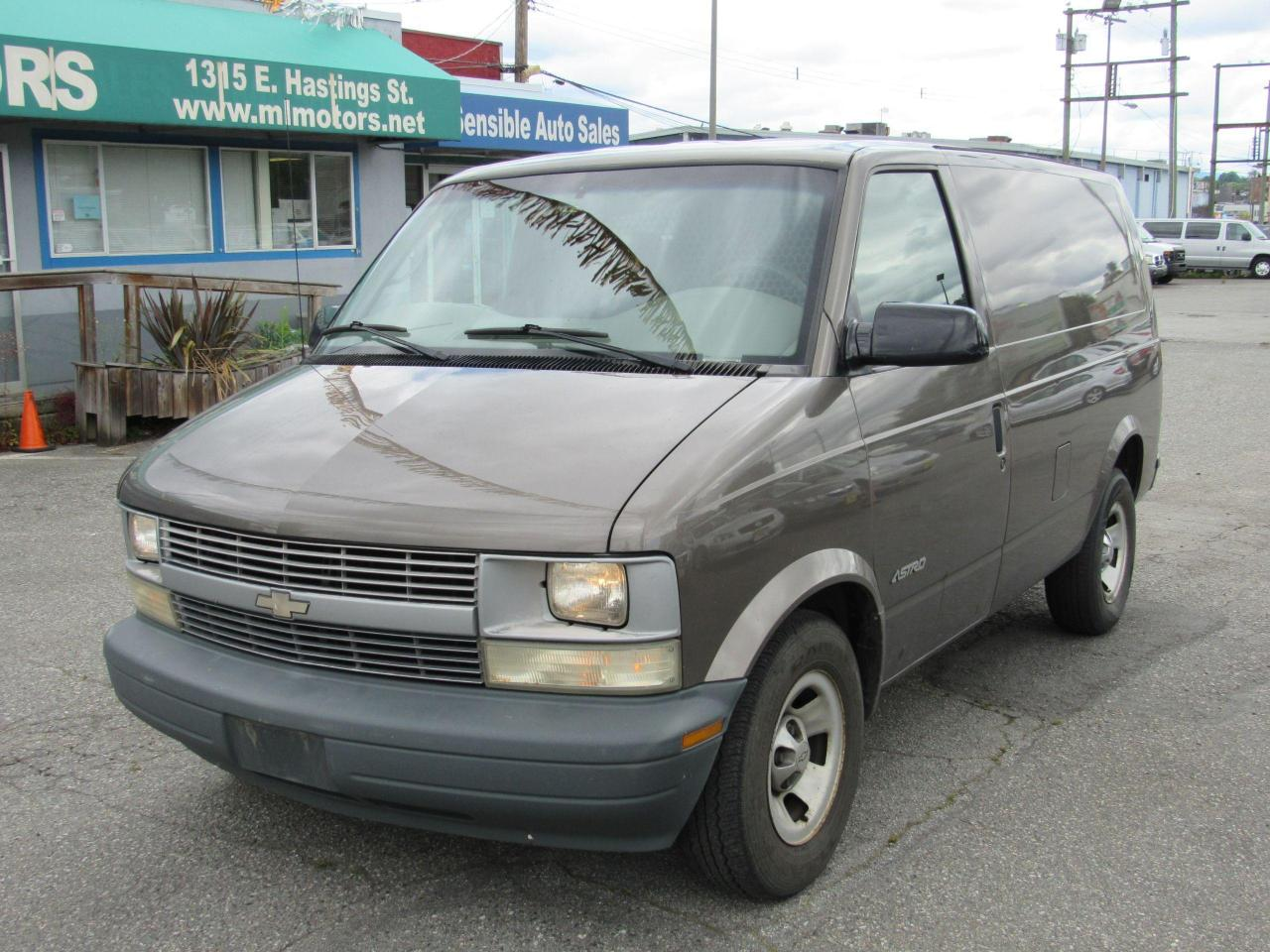 used 2002 chevrolet astro van for sale in vancouver, british columbia carpages.ca