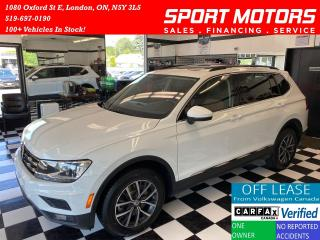Used 2018 Volkswagen Tiguan Comfortline+7 Pass+Pano Roof+NewTires+AccidentFree for sale in London, ON