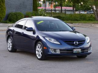 Used 2010 Mazda MAZDA6 LEATHER,GT,BOSE AUDIO, SUNROOF,FULLY LOADED OPTION for sale in Mississauga, ON