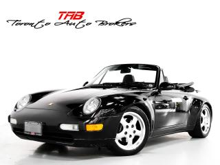 Used 1997 Porsche 911 Carrera CARRERA 993 I CONVERTIBLE I 6 SPEED I ALPINE for sale in Vaughan, ON