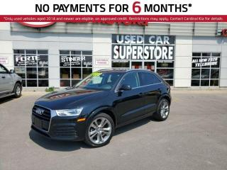 Used 2018 Audi Q3 Progressiv, AWD, Leather, Sunroof, Reverse Camera. for sale in Niagara Falls, ON