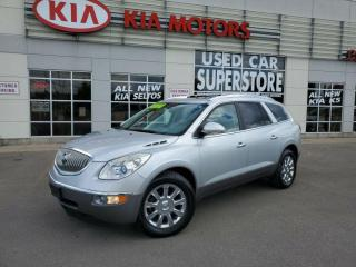 Used 2011 Buick Enclave CXL, AWD, 7 Passenger, DVD Player, Sunroof. for sale in Niagara Falls, ON