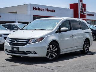 Used 2016 Honda Odyssey TOURING|NO ACCIDENTS for sale in Burlington, ON