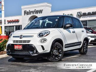 Used 2015 Fiat 500 L SUNROOF   BACK-UP CAM for sale in Burlington, ON