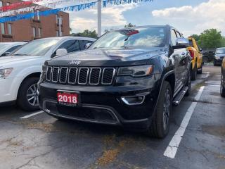 Used 2018 Jeep Grand Cherokee Limited   LUXURY GRP  II   PANO ROOF   NAV for sale in Burlington, ON