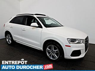 Used 2016 Audi Q3 Komfort AWD TOIT OUVRANT - A/C - Sièges Chauffants for sale in Laval, QC