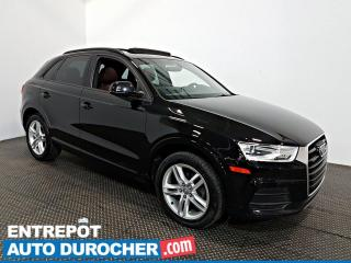 Used 2016 Audi Q3 Komfort AWD TOIT OUVRANT - A/C - Cuir for sale in Laval, QC