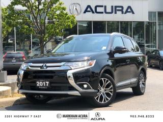 Used 2017 Mitsubishi Outlander GT S-AWC for sale in Markham, ON