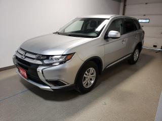 Used 2018 Mitsubishi Outlander ES|Htd Seats|Camera|AWD|N.Tires|Low Payment for sale in Brandon, MB