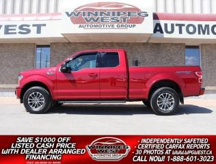 Used 2019 Ford F-150 SPORT EDITION 5.0L V8 4X4,  LOADED, LIKE NEW!! for sale in Headingley, MB
