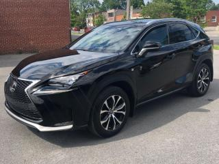 Used 2017 Lexus NX 200t F-Sport-2 *Blind-Spot *Navigation *Toit-Pano-Roof for sale in Saint-Hubert, QC