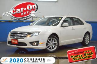 Used 2011 Ford Fusion SEL 3.0L V6 LEATHER SUNROOF HTD SEATS LOADED for sale in Ottawa, ON