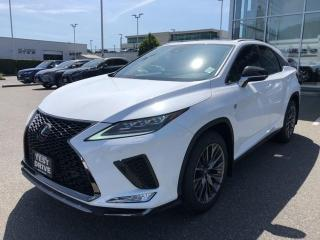 New 2020 Lexus RX 350 8A F SPORT SERIES 2 for sale in North Vancouver, BC