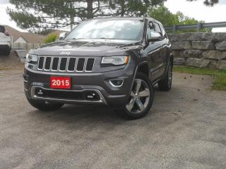 Used 2015 Jeep Grand Cherokee 4WD 4dr Overland | Pano | Navi | Active Safety! for sale in Waterloo, ON
