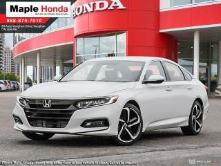 New 2020 Honda Accord Sport 2.0T for sale in Vaughan, ON