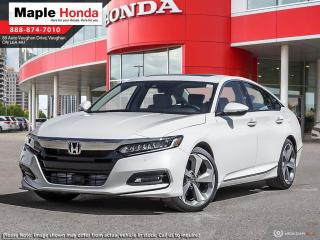 New 2020 Honda Accord Touring 1.5T for sale in Vaughan, ON