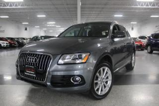 Used 2016 Audi Q5 TECHNIK I NAVIGATION I PANOROOF I REAR CAM I LEATHER for sale in Mississauga, ON
