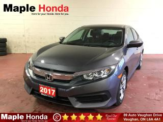 Used 2017 Honda Civic LX| Backup Cam| Bluetooth| for sale in Vaughan, ON