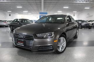 Used 2017 Audi A4 QUATTRO I NO ACCIDENTS I SUNROOF I LEATHER I HEATED SEATS for sale in Mississauga, ON