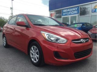 Used 2016 Hyundai Accent GL - Automatic - Bluetooth - Warranty for sale in Cornwall, ON