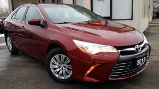 Used 2016 Toyota Camry LE - BACK-UP CAM! HEATED SEATS! for sale in Kitchener, ON