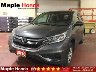Used 2016 Honda CR-V LX| Backup Cam| Bluetooth| for sale in Vaughan, ON