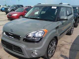 Used 2012 Kia Soul 4U Battleship gray, Very sleek looking SUV, Extremely clean, LOW KM!!! for sale in Brantford, ON
