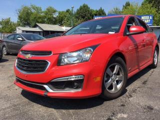 Used 2015 Chevrolet Cruze LT | ROOF | ALLOYS | AUTO | LOW KM for sale in Oshwa, ON