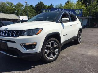 Used 2018 Jeep Compass LIMITED for sale in Oshwa, ON