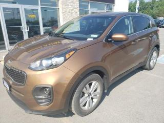 Used 2017 Kia Sportage LX FWD Bluetooth Keyless Entry Heated Front Seats for sale in Trenton, ON