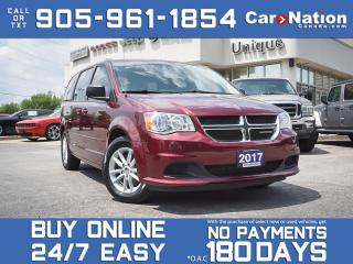 Used 2017 Dodge Grand Caravan SXT| STOW N' GO| BACK UP CAM| DVD| LOCAL TRADE| for sale in Burlington, ON