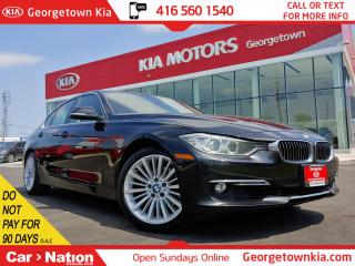 Used 2013 BMW 3 Series 328i xDrive|CLEAN CARFAX| LEATHER| ROOF| HTD SEATS for sale in Georgetown, ON