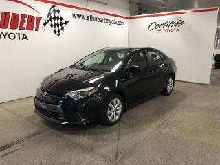 Used 2015 Toyota Corolla 4dr Sdn CVT LE for sale in St-Hubert, QC