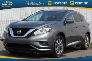 Used 2015 Nissan Murano Traction intégrale 4 portes SL for sale in Ste-Rose, QC