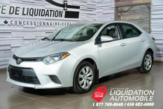 Used 2016 Toyota Corolla LE GR,ÉLECT+A/C for sale in Laval, QC