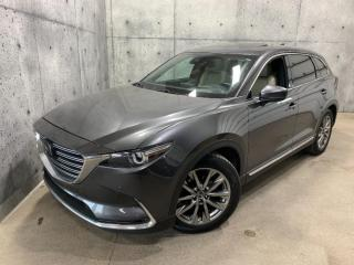 Used 2018 Mazda CX-9 GT PREMIUM AWD 7 passager CUIR TOIT GPS ANGLE MORT for sale in St-Nicolas, QC