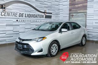 Used 2018 Toyota Corolla GR/ÉLECT,A/C,CAM/REC for sale in Laval, QC