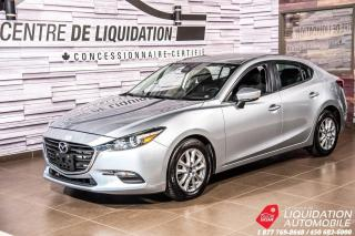 Used 2017 Mazda MAZDA3 GS+MAGS+GR/ÉLECT+A/C+CAM/REC+TOIT for sale in Laval, QC